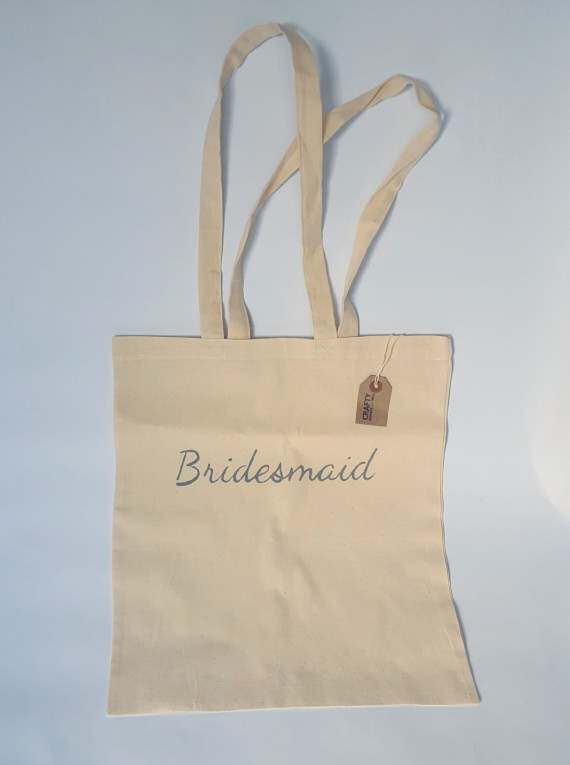 Cotton Tote Bridesmaid Design