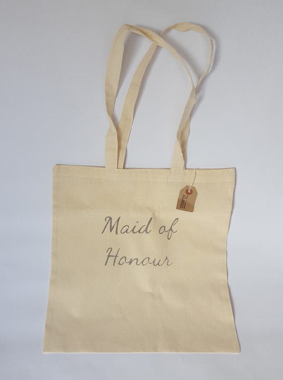 Cotton Tote Maid of Honour Design