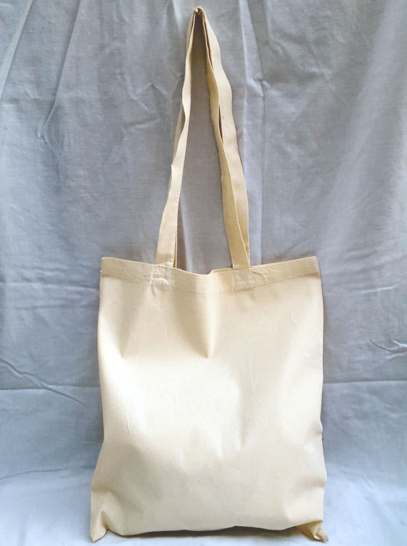 Natural Cotton Tote Shoulder Bag with Maid of Honour Design