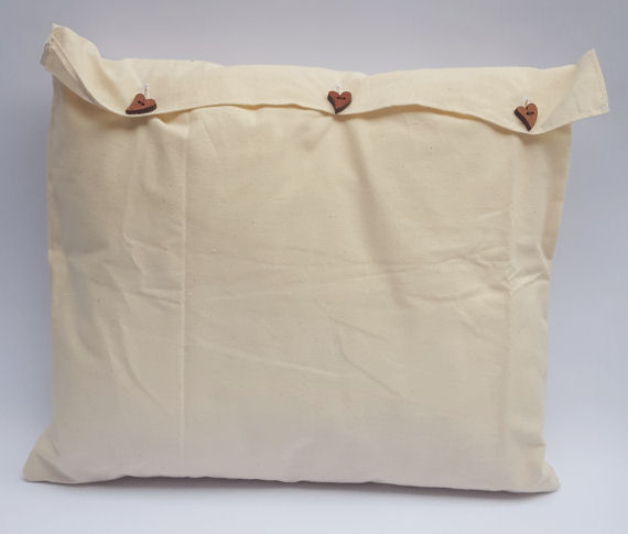 An Oblong Butterfly Bow Design Cushion
